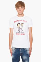 DSquared2 Classic Fit Dyed T-shirt - Lyst