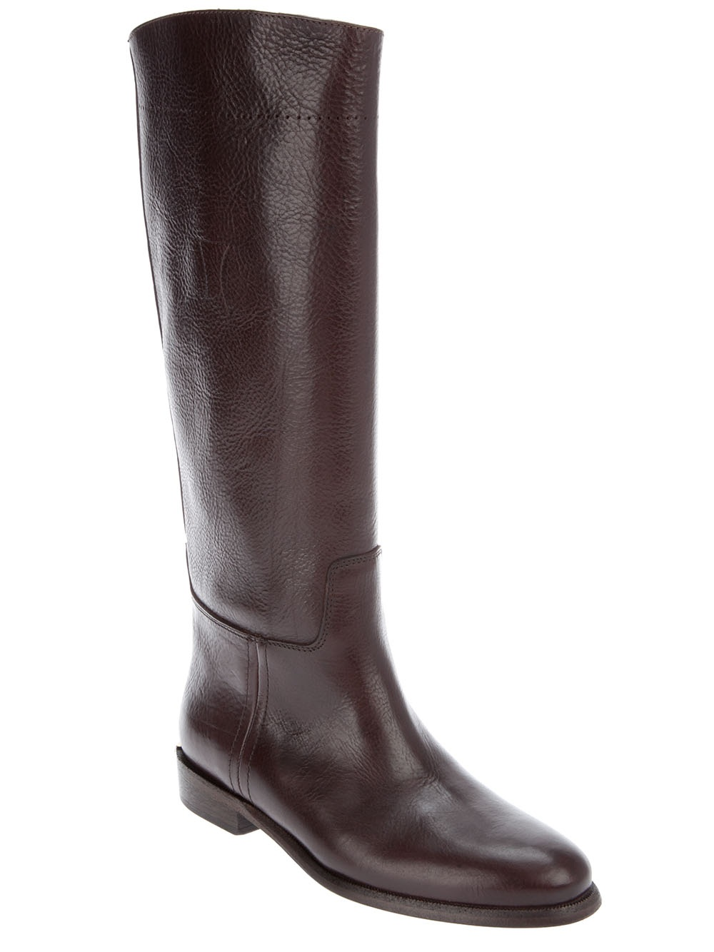 burberry boots in brown lyst