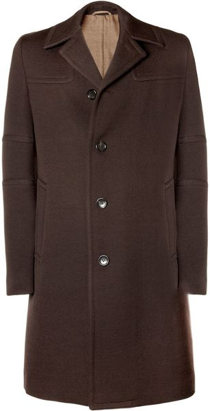 Gucci Wool-blend Coat - Lyst