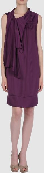 Prada Short Dress - Lyst
