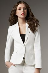 Alice + Olivia Kim Structured-shoulder Blazer - Lyst