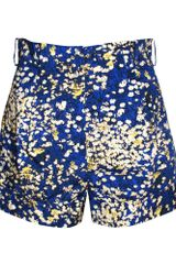 Cacharel Flower Print Shorts