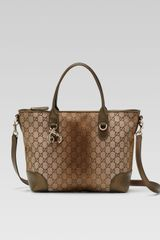 Gucci Heart Bit Medium Top Handle Bag - Lyst