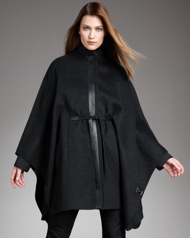 Lyst Loro Piana Lismore Cashmere Cape In Black