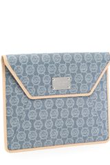 Michael by Michael Kors Jet Set Monogram Ipad Case - Lyst