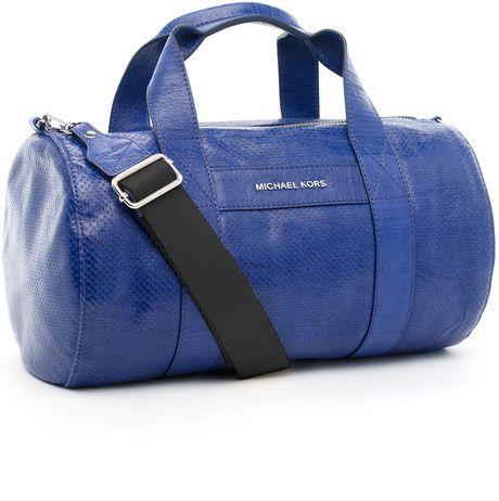 Michael Michael Kors Ashland Small Duffle Bag, Cobalt in Blue (cobalt)