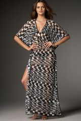 Missoni Guascogna Animal-knit Long Caftan - Lyst