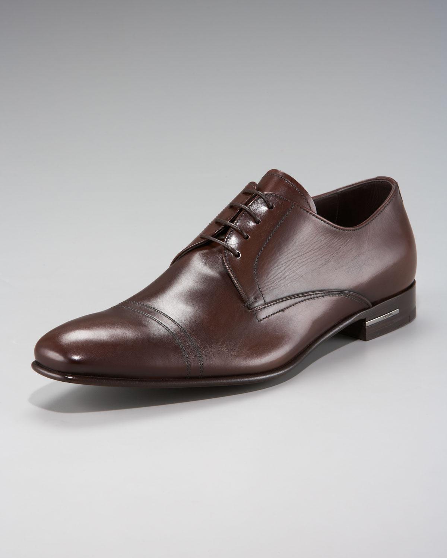 Oxford shoes - Brown Prada KNDiEqOt2