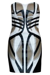 Sass & Bide Tribal Print Mini Dress - Lyst