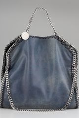 Stella McCartney Fold-over Falabella Tote - Lyst