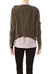 Day Birger Et Mikkelsen Crease Jacket in Khaki - Lyst