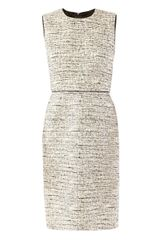 Max Mara Studio Salt and Pepper Dress - Lyst