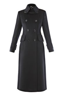 Sportmax Virgin Wool Coat - Lyst