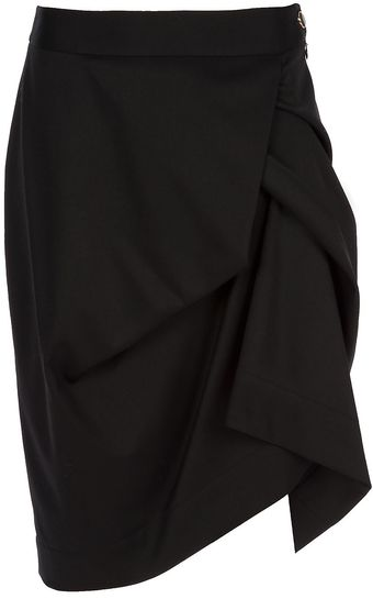 Vivienne Westwood Red Label Gathered Skirt - Lyst