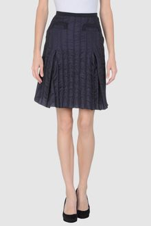 Emporio Armani Knee Length Skirt - Lyst