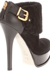 Fendi Platform Shoe Boot in Black - Lyst