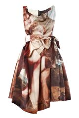 Vivienne Westwood Anglomania Friday Cotton Satin Dress - Lyst