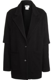 Mm6 X Opening Ceremony Wool Coat with Detachable Liner - Lyst