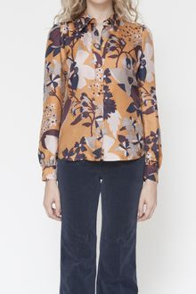 See By Chloé Big Flowers Blouse - Lyst