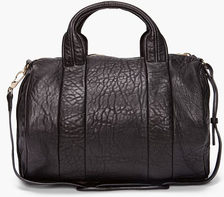 Alexander Wang Rocco Mini Duffle in Brown (black) - Lyst