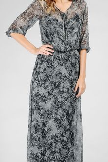 Ella Moss Autumn Maxi Dress - Lyst