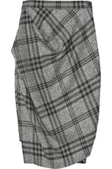 Vivienne Westwood Anglomania Philosophy Wool Plaid Skirt - Lyst