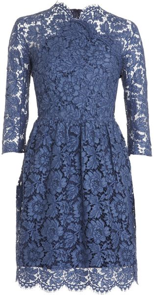 Carven Lace Dress - Lyst