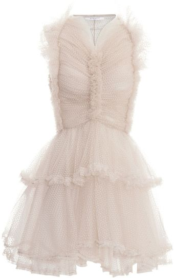 Givenchy Tiered Ruffle Dress - Lyst