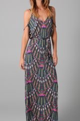 Mara Hoffman Open Back Maxi Dress - Lyst