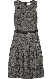 Michael by Michael Kors Cotton-blend Tweed Dress - Lyst