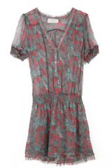 Zadig & Voltaire Dress Ribal Print Deluxe Silk in Multicolor (pink) - Lyst