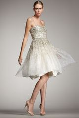 Alice + Olivia Tallulah Sequined Party Dress - Lyst