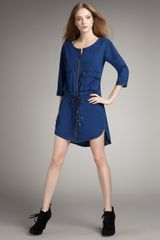 Marc By Marc Jacobs Denim Drawstring Tunic - Lyst