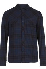 AllSaints Boston L/s Shirt - Lyst