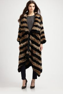 Elizabeth And James Long Salma Coat - Lyst