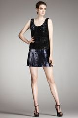 Fendi Sequin & Metallic Combo Dress - Lyst