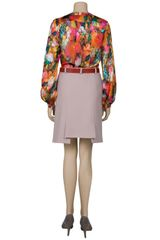 Preen Sunset Blouse in Floral - Lyst