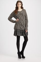 Theory Bramsy Airmix Chunky-knit Sweater - Lyst