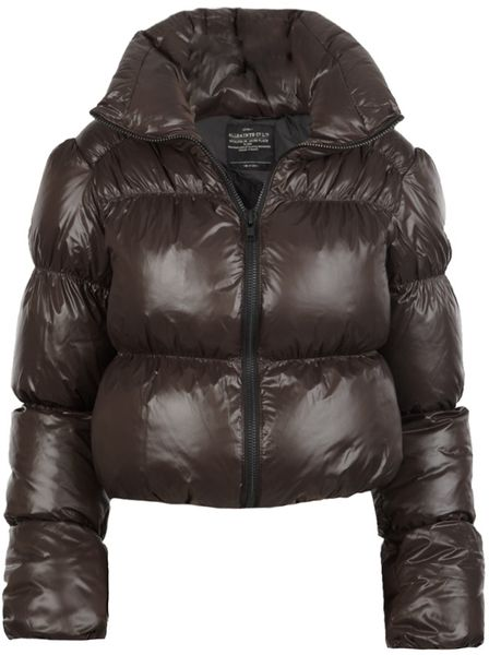 Allsaints Chatel Jacket in Brown (bitter blk) - Lyst