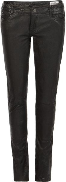 Allsaints Delors Pipe Skinny in Black - Lyst