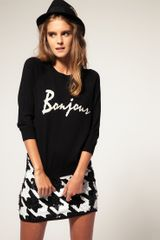 ASOS Collection Asos Bonjour Jumper in Angora Mix - Lyst