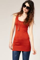 ASOS Collection Asos Basic Longline Vest - Lyst