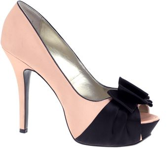 Asos Asos Posh Bow Heeled Shoe - Lyst