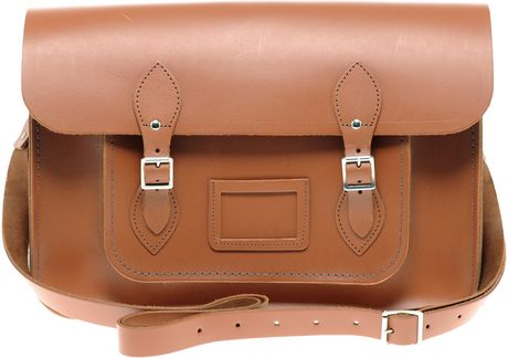 Cambridge Satchel Company 15 Satchel in Brown (tan) - Lyst