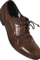 Hudson Dylan Round Toe Shoes in Brown for Men - Lyst