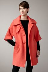 Milly Diane Retro Coat - Lyst