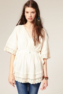 River Island Cheesecloth Kaftan - Lyst