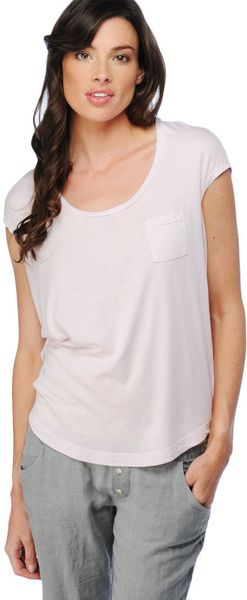 Splendid Light Jersey Circle Top - Lyst
