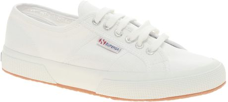 Superga Canvas Plimsolls in White for Men - Lyst