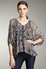 Winter Kate Tiger Lily Blouse, Rosewater - Lyst